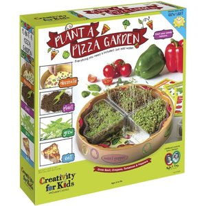 Faber-Castell Plant a Pizza Garden - Decorate, Plant, Grow and Eat! (Grow Basil, Oregano, Tomatoes & Peppers)