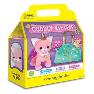 Faber-Castell Cuddly Kitten - Personalize My Cat & Purse - Craft Kit