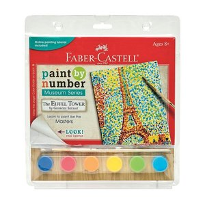Faber-Castell Paint By Number Museum Series - Eiffel Tower