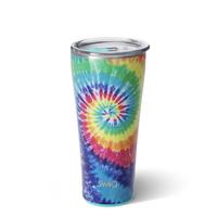 Swig 32 oz - Tumbler - Swirled Peace Tie Dye