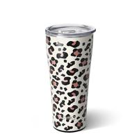 Swig 32 oz Tumbler - Luxy Leopard