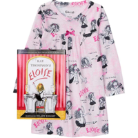 Hatley Eloise - Night Dress/Nightgown + Book - Hanging (Pink) -