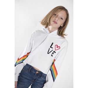 Stoopher Hoodie - Rainbow Love