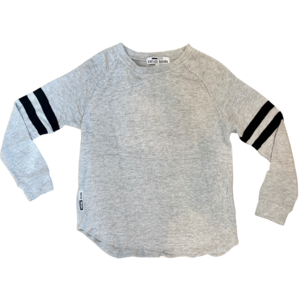 Vintage Havana Crewneck Shirt - Varsity Stripe Hacci