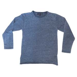 Vintage Havana Crewneck Shirt - Burnout Blue Long-Sleeve