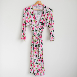 Little Sleepies Roses - Women's Bamboo Viscose Robe