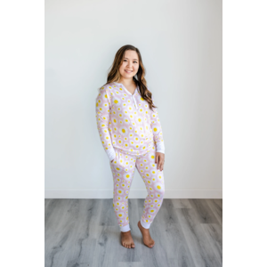 Little Sleepies Daisies - Two-Piece Women's Bamboo Pajama Set