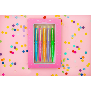 Taylor Elliot Designs Motivational Pen Set in Gift Box (5 Pens total)