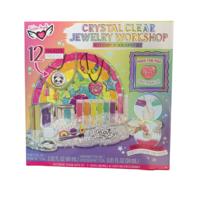 Fashion Angels Crystal Clear Jewelry Workshop Super Set