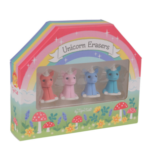 Schylling Unicorn Erasers (4-pack)