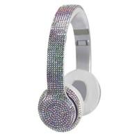 Wireless Express Bluetooth Headphones Iridescent Bling