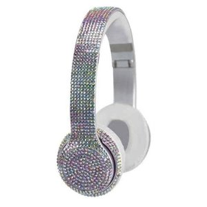 Wireless Express Bluetooth Headphones Iridescent Bling