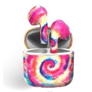 Wireless Express Bluetooth Earbuds/Airpods Tie Dye