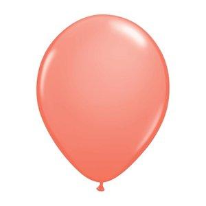 "burton + BURTON 11"" Latex -  Solid Coral Balloon (with helium)"