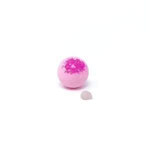 Feeling Smitten Crystal Geode - Bath Bomb with Rose Quartz Inside