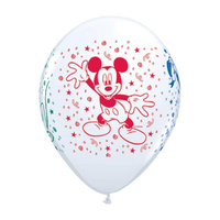 "burton + BURTON 11"" Latex -  Balloon - Mickey Mouse & Friends (with helium)"