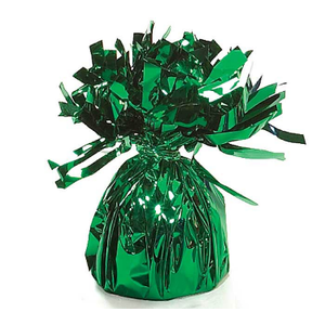 Balloons.com Green Foil Bouquet Balloon Weight