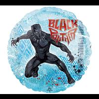 "burton + BURTON 17"" inch - Foil Balloon - Black Panther Marvel Avengers (with helium)"