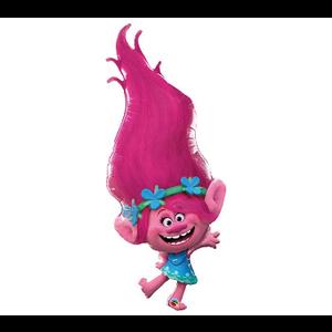 "burton + BURTON 43"" - Foil Balloon - Trolls Poppy Character (with helium)"