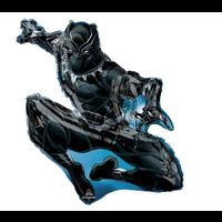 "burton + BURTON 32"" - Foil Balloon - Avengers Black Panther Character Shape (with helium)"
