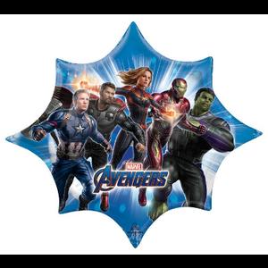 "burton + BURTON 35"" - Foil Balloon - Avengers Endgame Actors (with 2.94 cf of helium) Anagram Supsershape 39870"