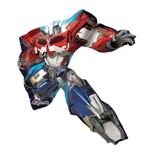 "burton + BURTON 35"" - Foil Balloon - Transformers Optimus Prime Character Shape (with 1.4 cf of helium) Anagram SuperShape XL 29333"