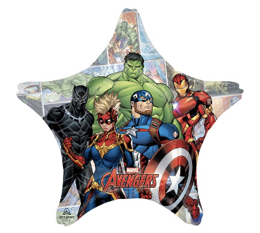 Captain America 5 16 Piece Balloon Kit Foil Party Kids Superhero Avengers 10