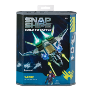 PlayMonster Snap Ships - Build to Battle - Sabre (XF-23 Interceptor)