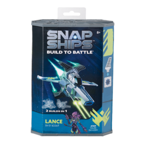 PlayMonster Snap Ships - Build to Battle - Lance (SV-51 Scout)