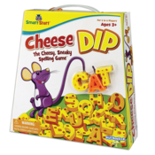 PlayMonster Cheese Dip - The Cheesy, Sneaky Spelling Game! Ages 3+