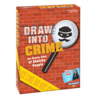 PlayMonster Draw Into Crime - A Sketchy Game of Sketchy People - Ages 6+