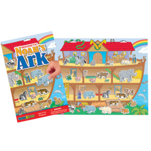 PlayMonster Create-A-Scene - Noah's Ark - Magnetic Playset