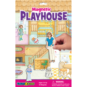 PlayMonster Create-A-Scene - Playhouse - Magnetic Playset