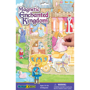 PlayMonster Create-A-Scene - Enchanted Kingdom - Magnetic Playset