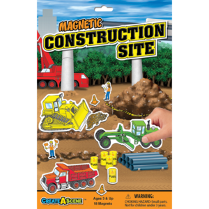 PlayMonster Create-A-Scene - Construction Site - Magnetic Playset