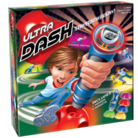 PlayMonster Ultra Dash Game - The Race is On! - Ages 6+ (Includes 1 tagger and 5 targets)
