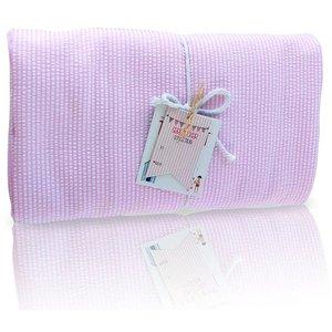 Nikiani Seersucker Towel Ket - Solid Pink