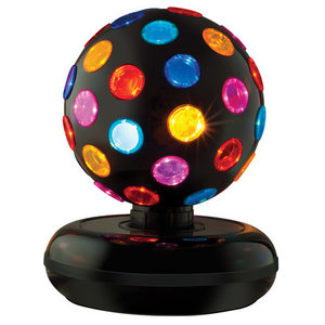 Schylling Disco Ball - 360 degree rotating lights!