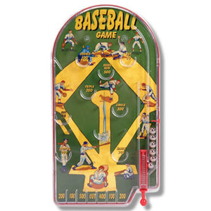 Schylling Home Run Baseball Pinball Game