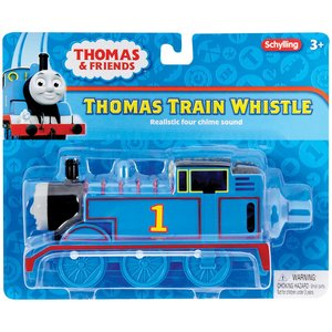 Schylling Thomas the Train - Large Train-Shaped Whistle (reaslisteic 4 chime sound!)
