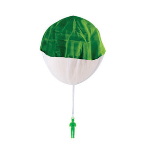 Schylling Retro Paratrooper - with Tangle Free Parachute (17 inch chute)