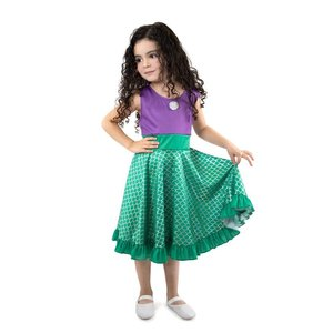 Little Adventures Little Mermaid - Princess Ariel - Twirl Dress