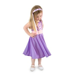 Little Adventures Rapunzel Twirl Dress
