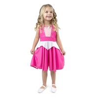 Little Adventures Sleeping Beauty - Princess Aurora - Twirl Dress - Pink