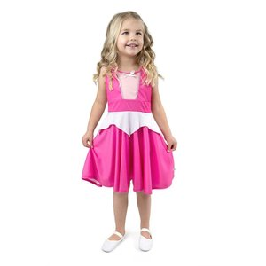 Little Adventures Sleeping Beauty - Princess Aurora - Twirl Dress - Pink