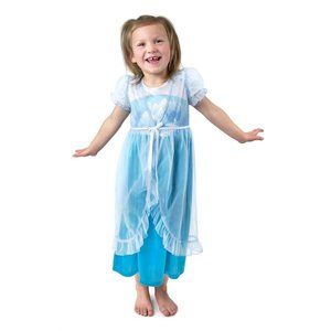 Little Adventures Elsa Frozen (Ice Princess) Nightgown with Blue Robe