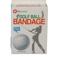 Watchitude Golf Ball-Shaped Bandaids - 50 Adhesive Bandages