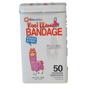 Watchitude Llama-Shaped Bandaids - 50 Adhesive Bandages