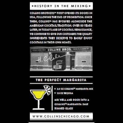True Brands 32 oz. Collins Margarita Cocktail Mix - Just Add Tequila!