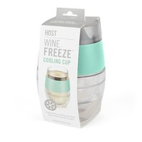 True Brands Wine Freeze Cooling Cup - Mint Green - Keeps Wine Cold for Hours!